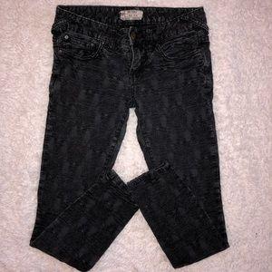 3/$30🌻Free People Printed Textured Jeans